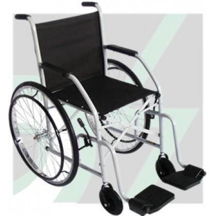 Cadeira de Rodas Adulto Pneus Maciços (Roda Ralada) Mod.101 CDS