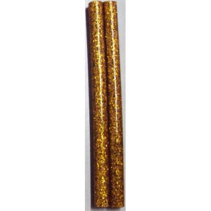 Bastão de Cola Silicone Fino Ouro c/Gliter 250g - Cis