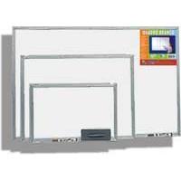 Quadro Branco Standart 80x60cm Mold.Alumínio Cortiarte