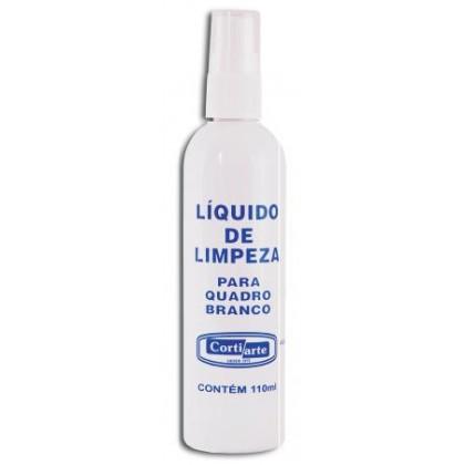Líquido p/Limpeza de Quadro Branco 100ml-Cortiarte