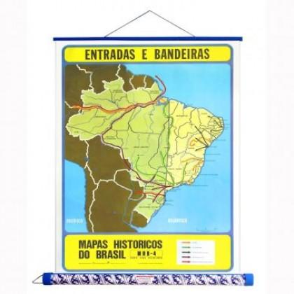 Mapa Laminado HB: Entradas e Bandeiras - ECA