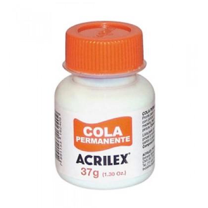Cola Permanente 37g c/12 - Acrilex
