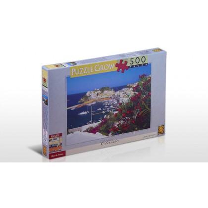 Quebra-Cabeça 500 Pçs Ilha de Ponza-Grow