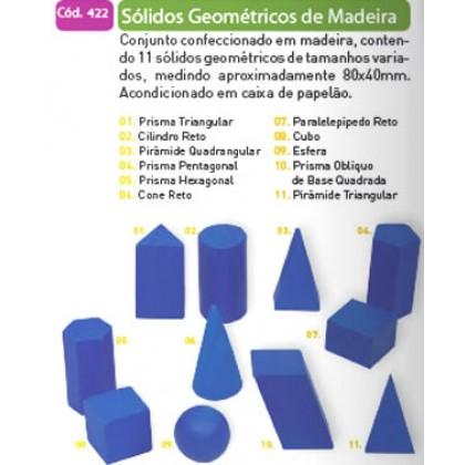 Sólidos Geométricos em Plástico c/8 Pçs-BM