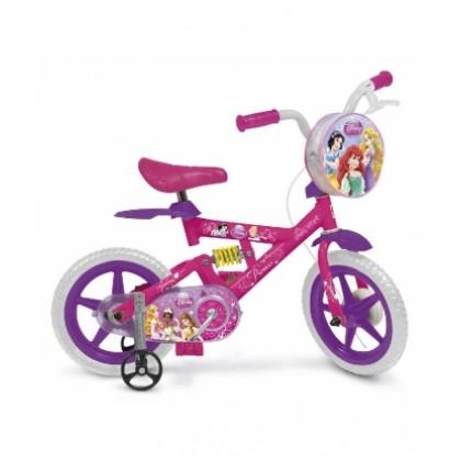 Bicicleta X-Bike 12 Princesas Disney Bandeirante