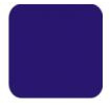 Papel Microondulado Liso 50x80cm Azul c/10-VMP